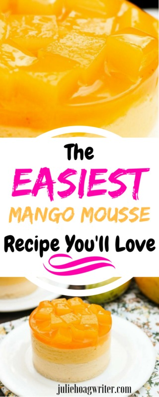 The Easiest Mango Mousse Recipe Youll Love O Julie Hoag Writer