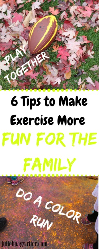 6 Tips to Make Exercise More Fun for the Family. Healthy lifestyle family. Family fun. Family time. Health and Fitness for families. #familytime #familyfun #familyfirst #exercise #exercising #exercisingwithkids #exercisingwithfamily #familyactivities #spendingtimetogether #spendingtimewithmyson #kidsactivities #fitnessforkids #fitnessforlife #healthylife #healthylifestylefamily #fitnessgoals #fitnessjourney #kidsfitness