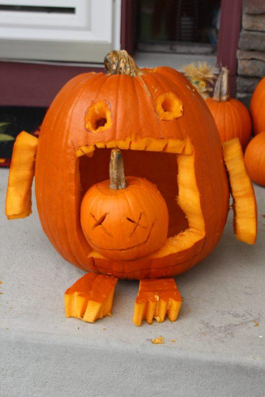 Pumpkin carving ideas for Halloween kids will love.