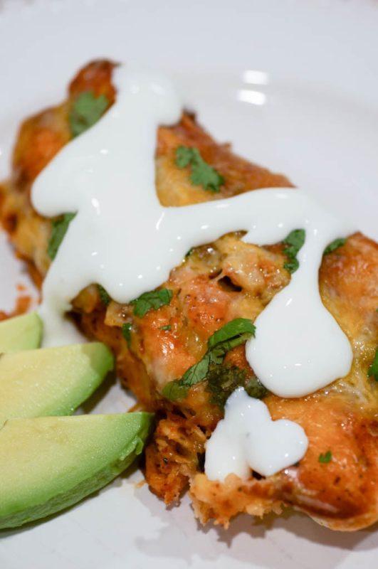 Jackfruit Enchiladas #vegetarianrecipe #vegetarian #vegetarianfood