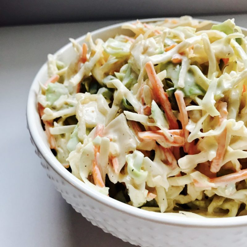 Spicy Cabbage Slaw vegetarian salad. #salad #vegetarian #vegetarianrecipe #recipe #sidedish #meatless #meatlessmonday