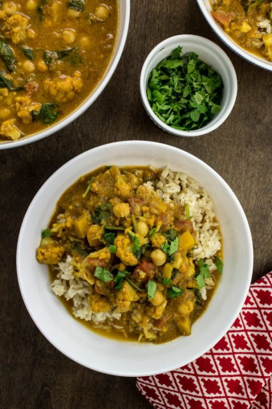 Squash and Vegetable Curry a Weight Watchers Friendly recipe #vegetarian #vegetables #vegetarianrecipe #meatlessmonday #meatless #recipe #healthyrecipe #healthy