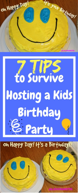7 Tips to Survive Hosting a Kids Birthday Party as a parent. Kids party ideas. Hosting birthday parties for children. #kidsparty #birthday #birthdayparty #party #kids #partyideas #partyplanning #planning #partyfood #children #partiesforkids #parties #tips #parenting #parents #mothers #motherhood #hosting #entertaining