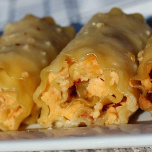 Hybrid Recipe Rutabaga Vegetarian Plus Ham Lasagna Rolls