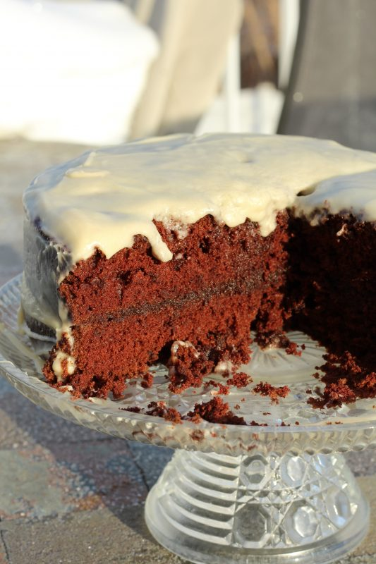 Make Chocolate Thunder cake as a distraction to kids to help them cope with thunderstorms. Read the book and make the cake to distract kids who have fears of thunderstorms.