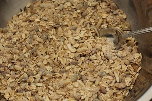Easy Homemade Granola Recipe Seeds and Nuts