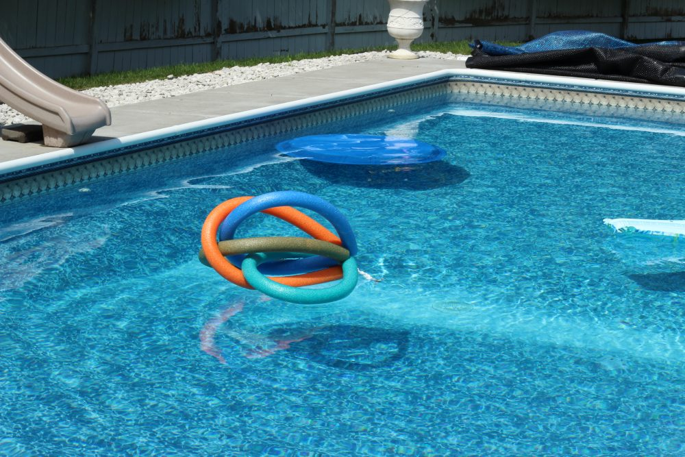 DIY Pool Floaty Toy Made with Pool Noodles