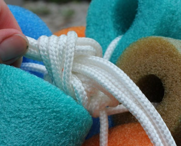 DIY Pool Floaty toy homemade