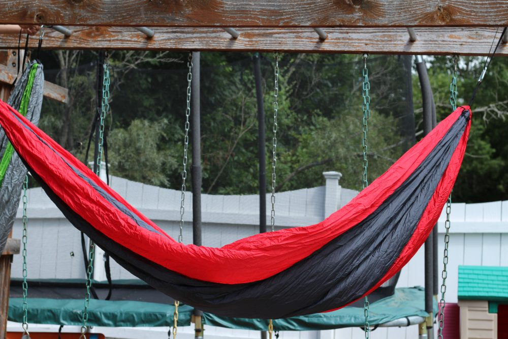 Christmas Presents for Teen boys including a hammock to lounge it. Great ideas that are useful and fun for holiday gifts for boys.