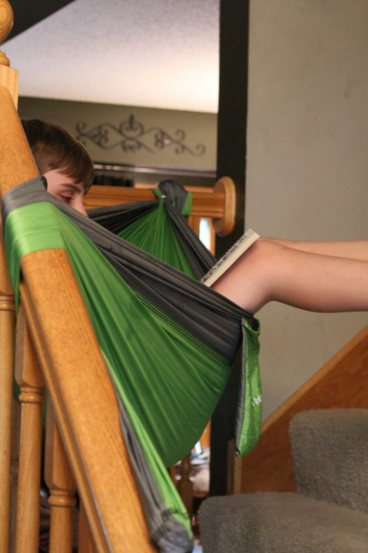 Peachy Portable Kids Hammock For The House Backyard And Camping Download Free Architecture Designs Itiscsunscenecom