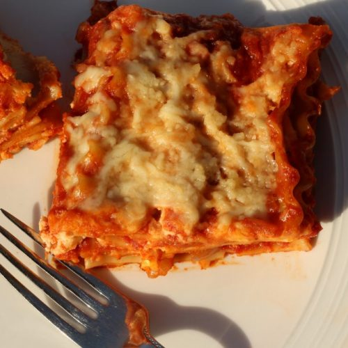 Hybrid Recipe: Parsnips Homemade Lasagna Recipe for a Split Table of Vegetarians and Meat-Lovers