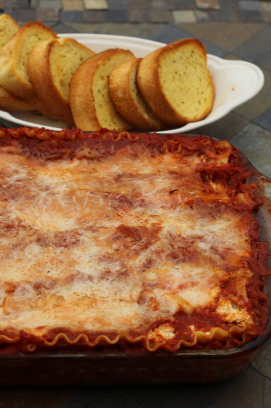 Hybrid Recipe Parsnips Homemade Lasagna Recipe for a Split Table of Vegetarians & Meat-Lovers meatless dish. A tasty vegetable lasagna for families. Hybrid recipe for multi diet families