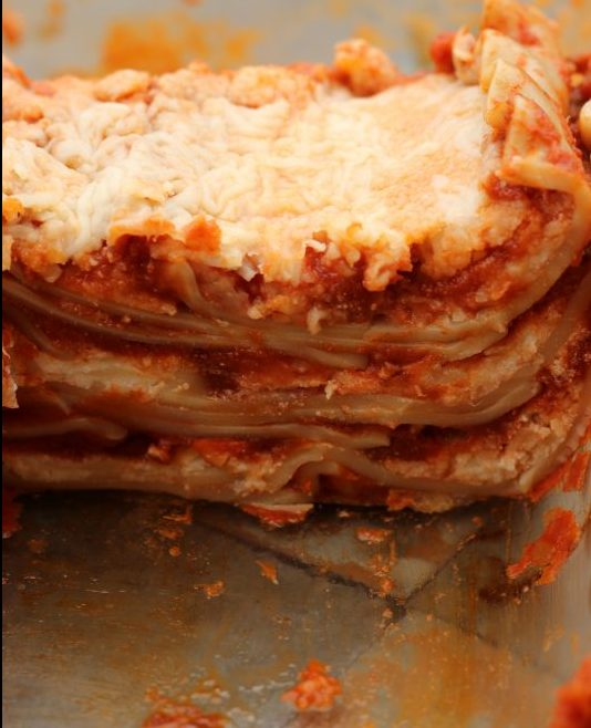 Hybrid Recipe Parsnips Homemade Lasagna Recipe for a Split Table of Vegetarians & Meat-Lovers meatless dish. A tasty vegetable lasagna for families. Hybrid recipe for multi diet families. A pasta dish for families who want meatless and meat portions.