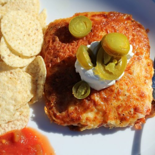 Quick Cheesy Mexican Air Fryer Egg Recipe
