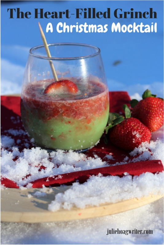 The Heart-Filled Grinch Punch A Christmas Mocktail