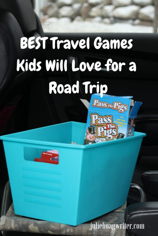 Best Travel Games Kids Will Love for a Road Trip Family travel tips. Mom hack for family travel and boredom busters when traveling across country for a family road trip vacation.
