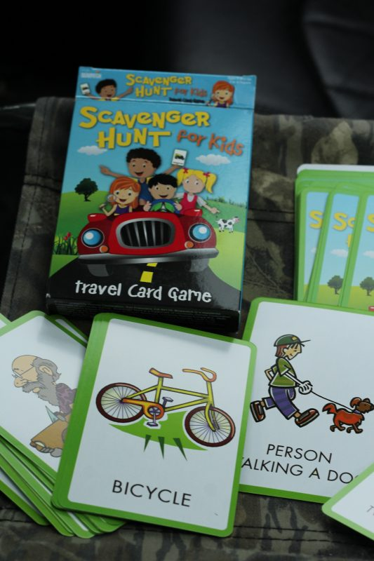 Best Travel Games Kids Will Love for a Road Trip scavenger hunt game. Boredom buster for kids.