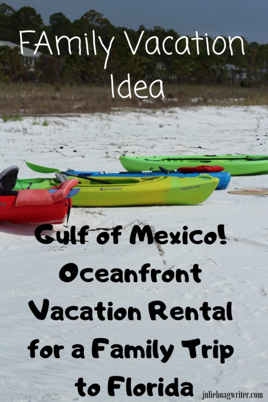 Gulf of Mexico Oceanfront Vacation Rental for a Family Trip to Florida