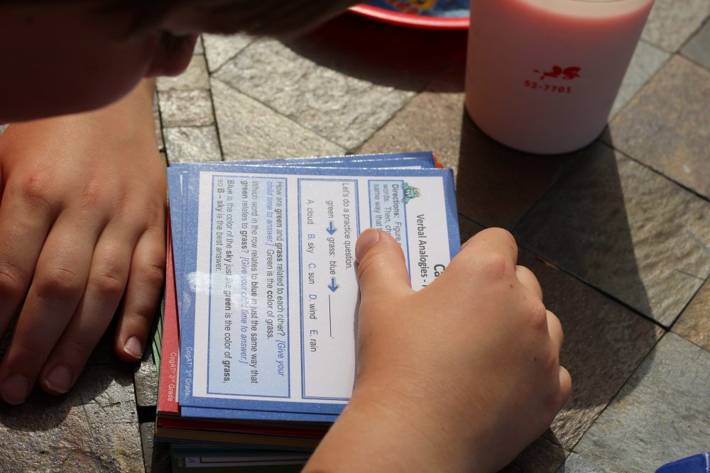 Flash cards Standardized test practice for Elementary School aged kids flash cards and test prep