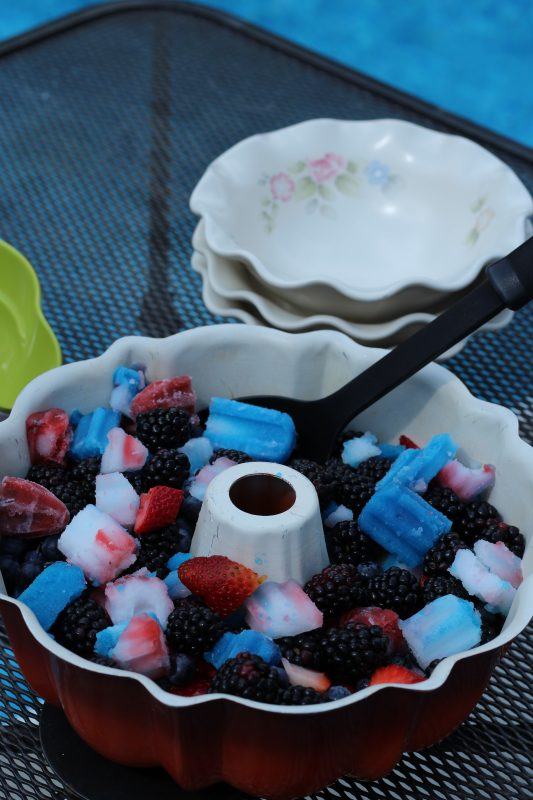 Summer fruit salad for the Fourth of July