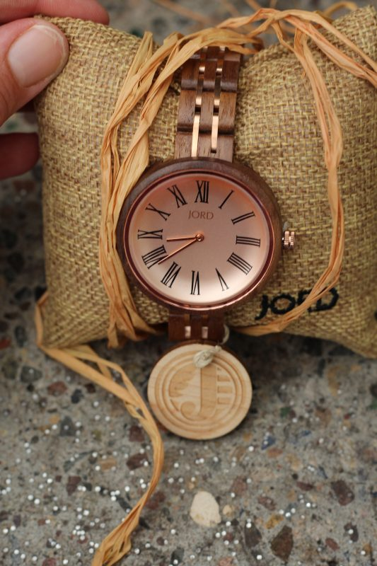 JORD Wood watches womens gifts. Ladies designer watches.