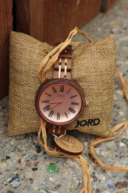 JORD wood watches natural. Ladies designer watches. Great gifts for women.