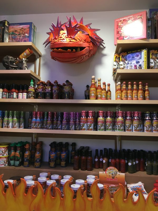 Minnesota's Largest Candy Store in Jordan hot sauces