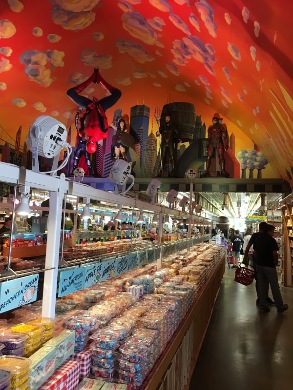 Minnesota's Largest Candy Store in Jordan inside the long candy store in Jordan Minnesota