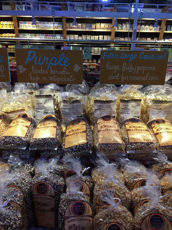Minnesota's Largest Candy Store in Jordan popcorn kernels