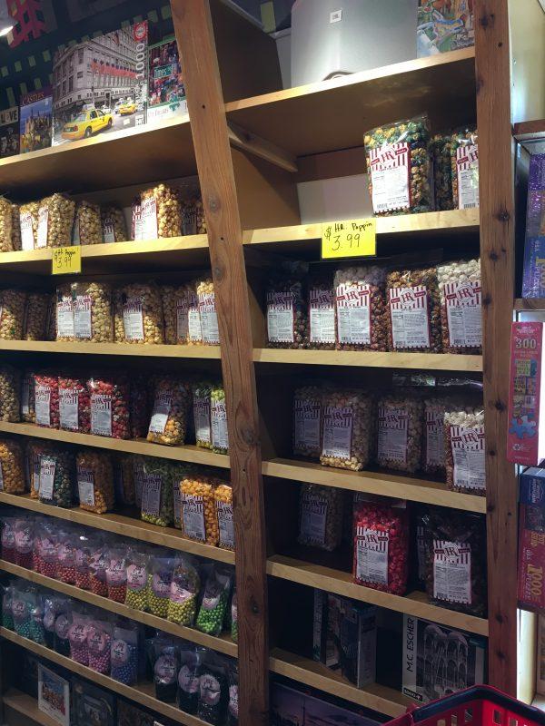Minnesota's Largest Candy Store in Jordan popcorn