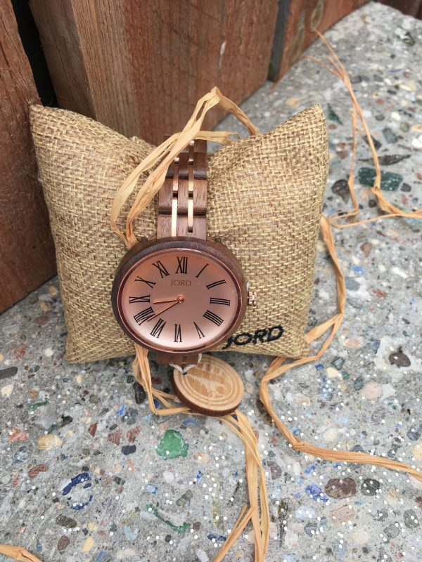Wood watches for women by JORD. Ladies designer watches.