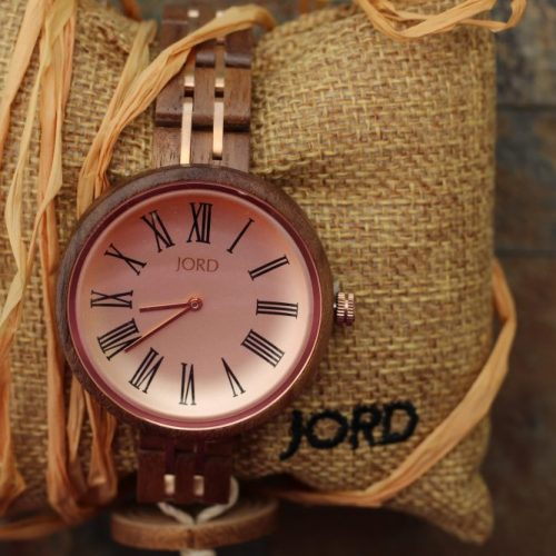 The lovely pink exquisite Cassia women's watch by JORD
