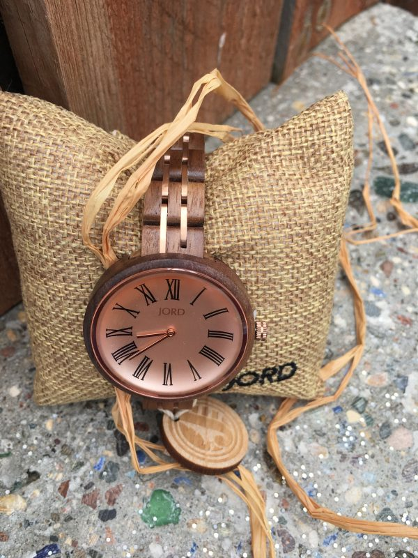 wood watches by JORD women's accessories. Ladies designer watches.