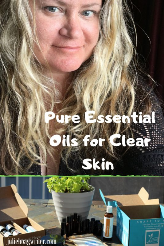 Pure Essential Oils for Clear Skin natural skincare regimen