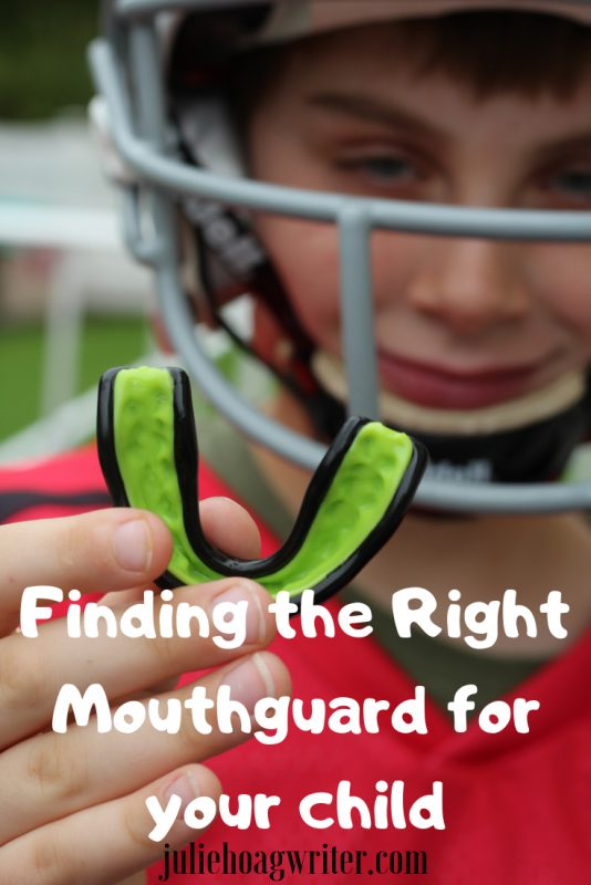Finding the Right Mouthguard for your child
