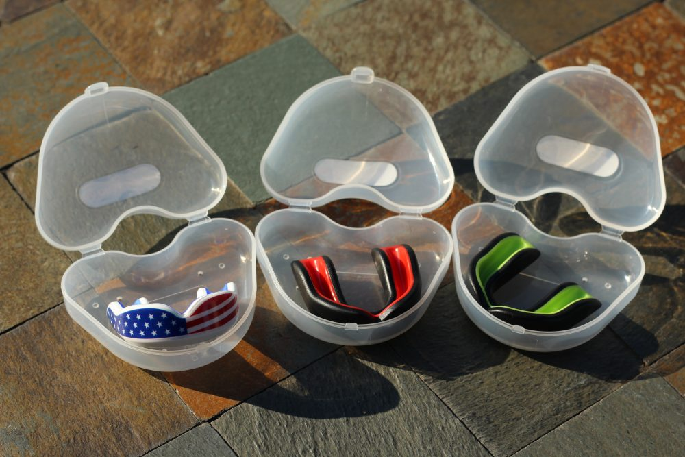 Oral Mart mouthguard for football and other youth sports