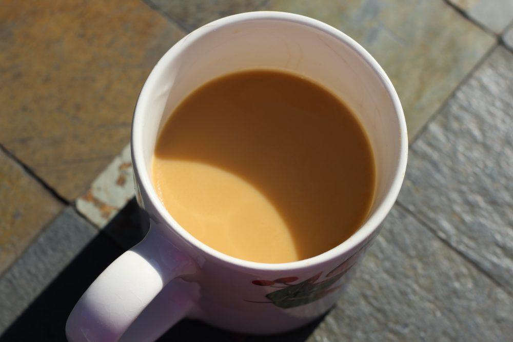 Pumpkin spice latte coffee drink