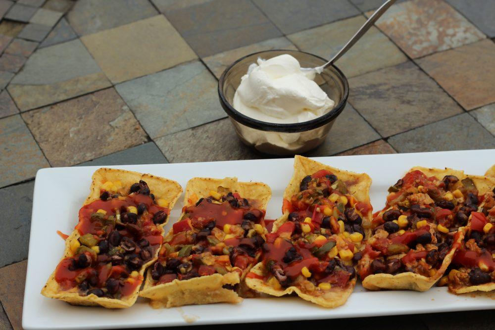 Easy Taco Boats Hybrid Recipe with Black Beans a hybrid recipe