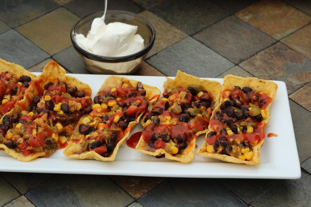 Easy Taco Boats Hybrid Recipe with Black Beans quick recipe