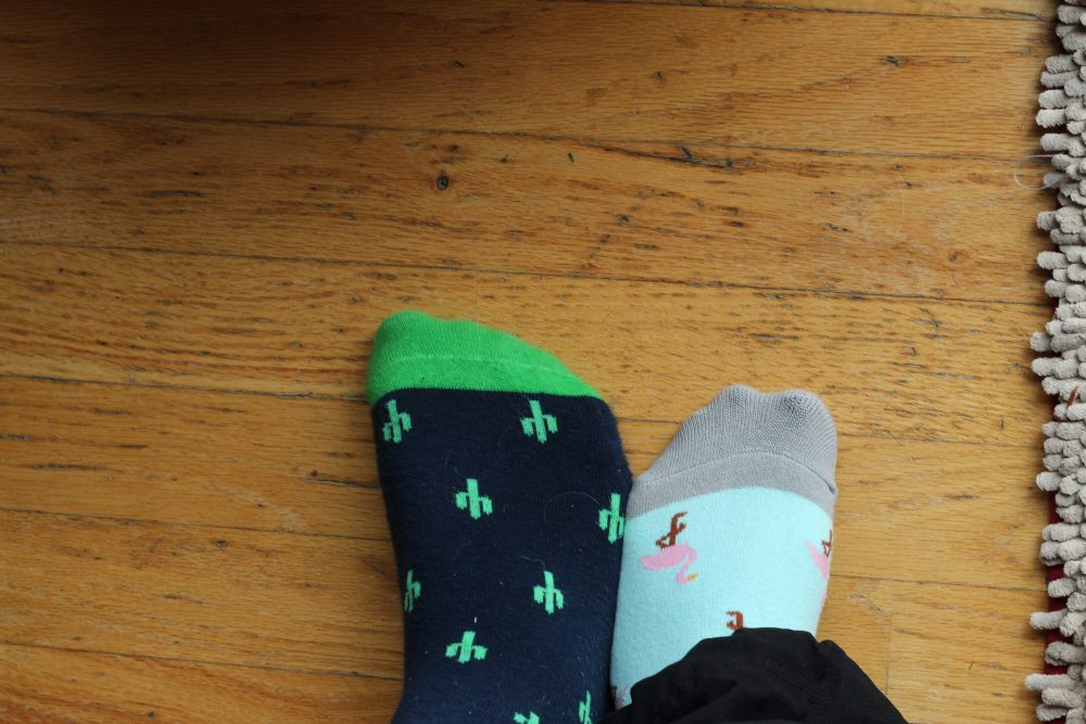 socks for holiday gifts