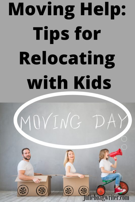 Moving Help tips for relocating with kids on moving day