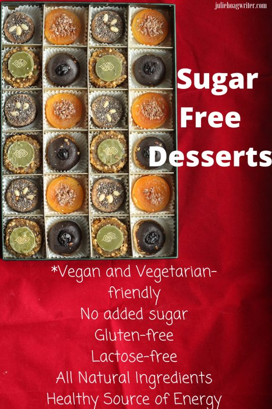 Sugar free desserts to buy vegan, vegetarian, lactose free, gluten free, all natural