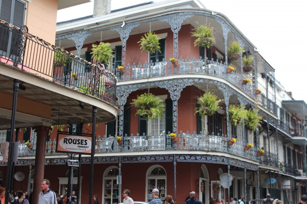beautiful building in New Orleans