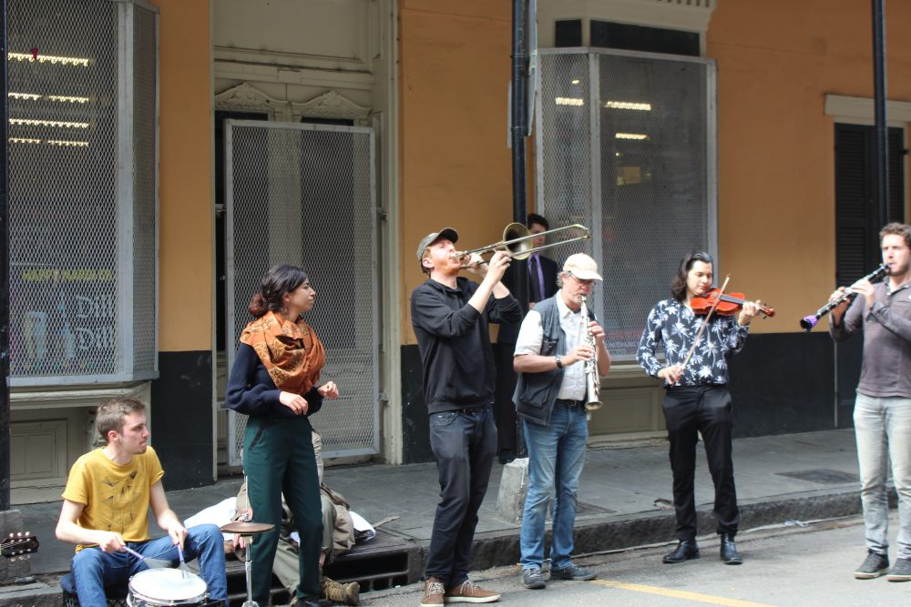 street band in New Orleans Lousiana