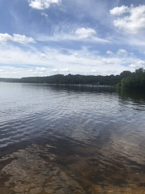 St Croix River near the boat launch