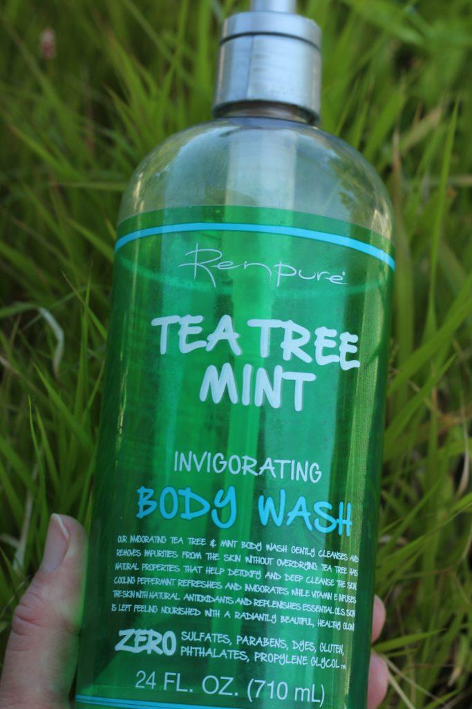 Cruelty free skin care liquid soap