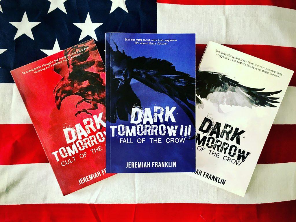 Jeremiah Frankin author of the dystopian thriller trilogy Dark Tomorrow