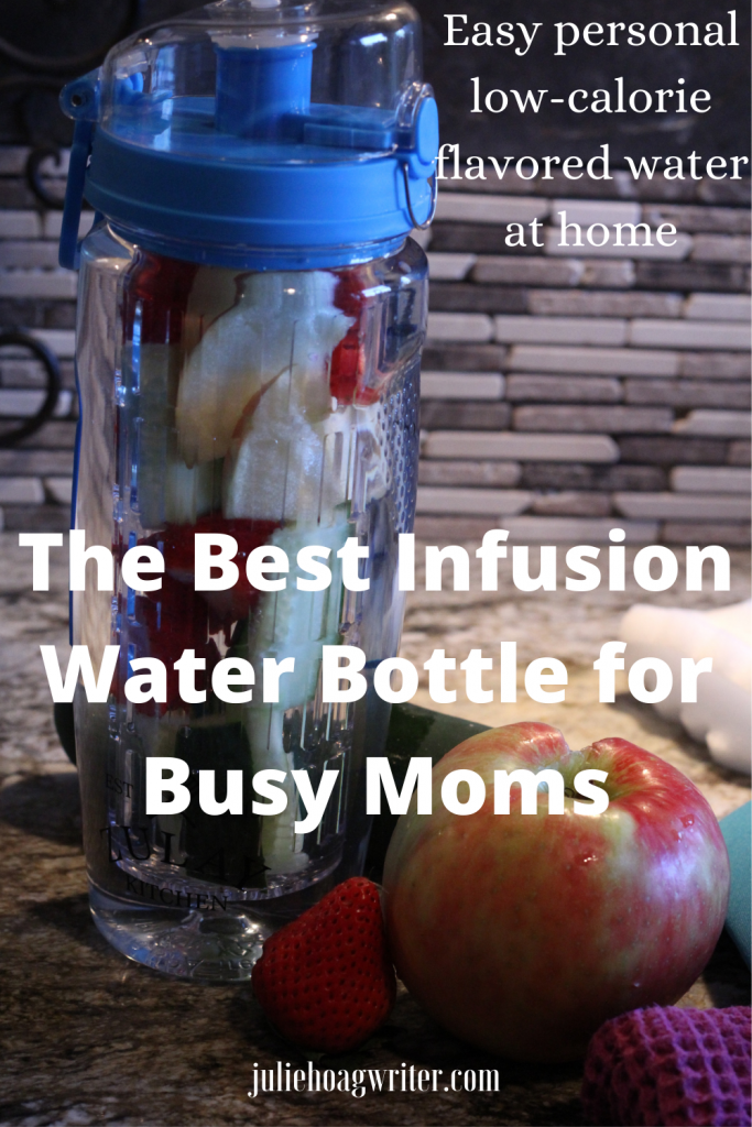 The Best Infusion Water Bottle for Busy Moms easy personal flavored water at home for self-care