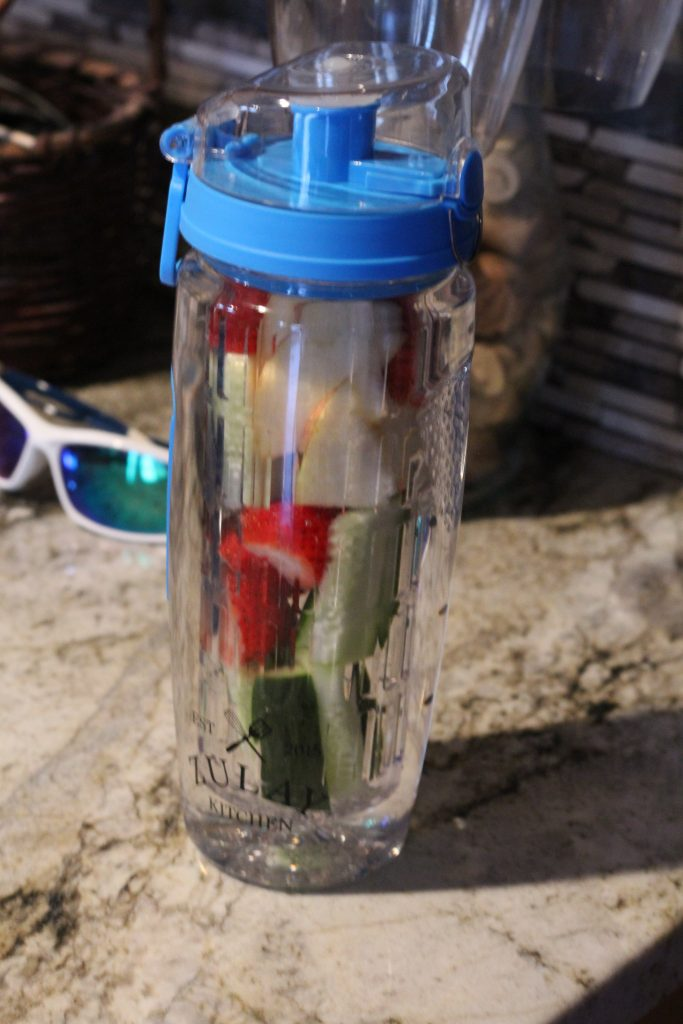 The Best Infusion Water Bottle for Busy Moms ready to go