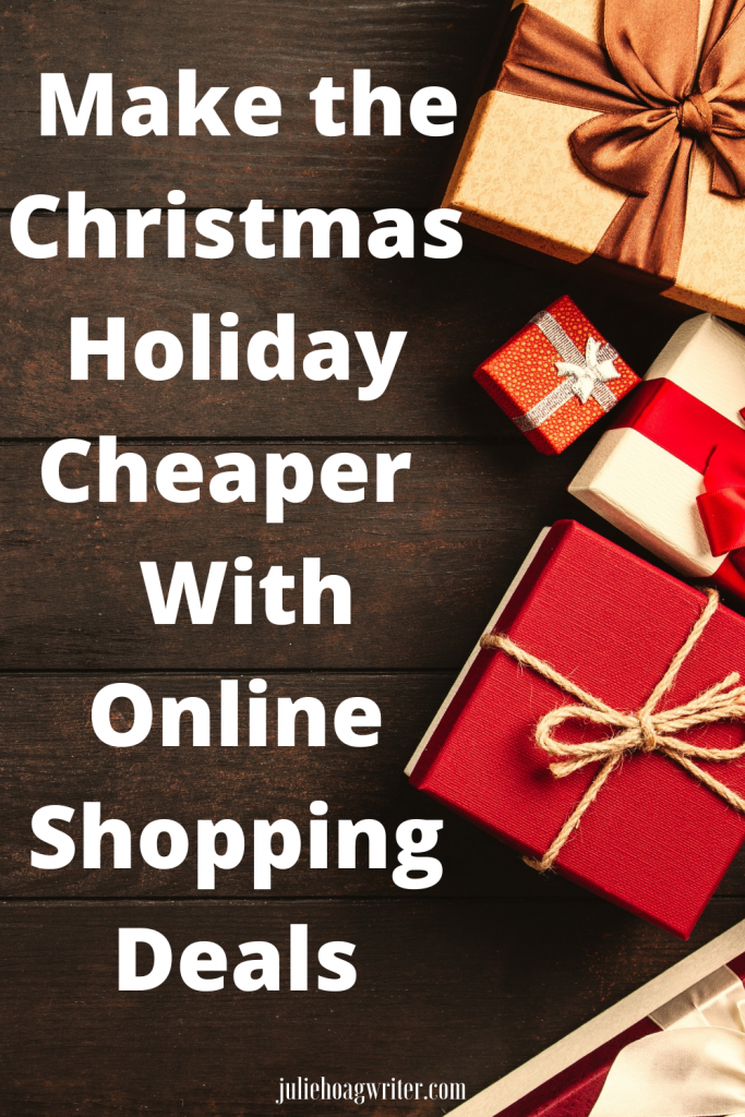 Make the Christmas Holiday cheaper with online shopping deals. Great  black friday discounts and deals. Shopping online makes the holiday easier.